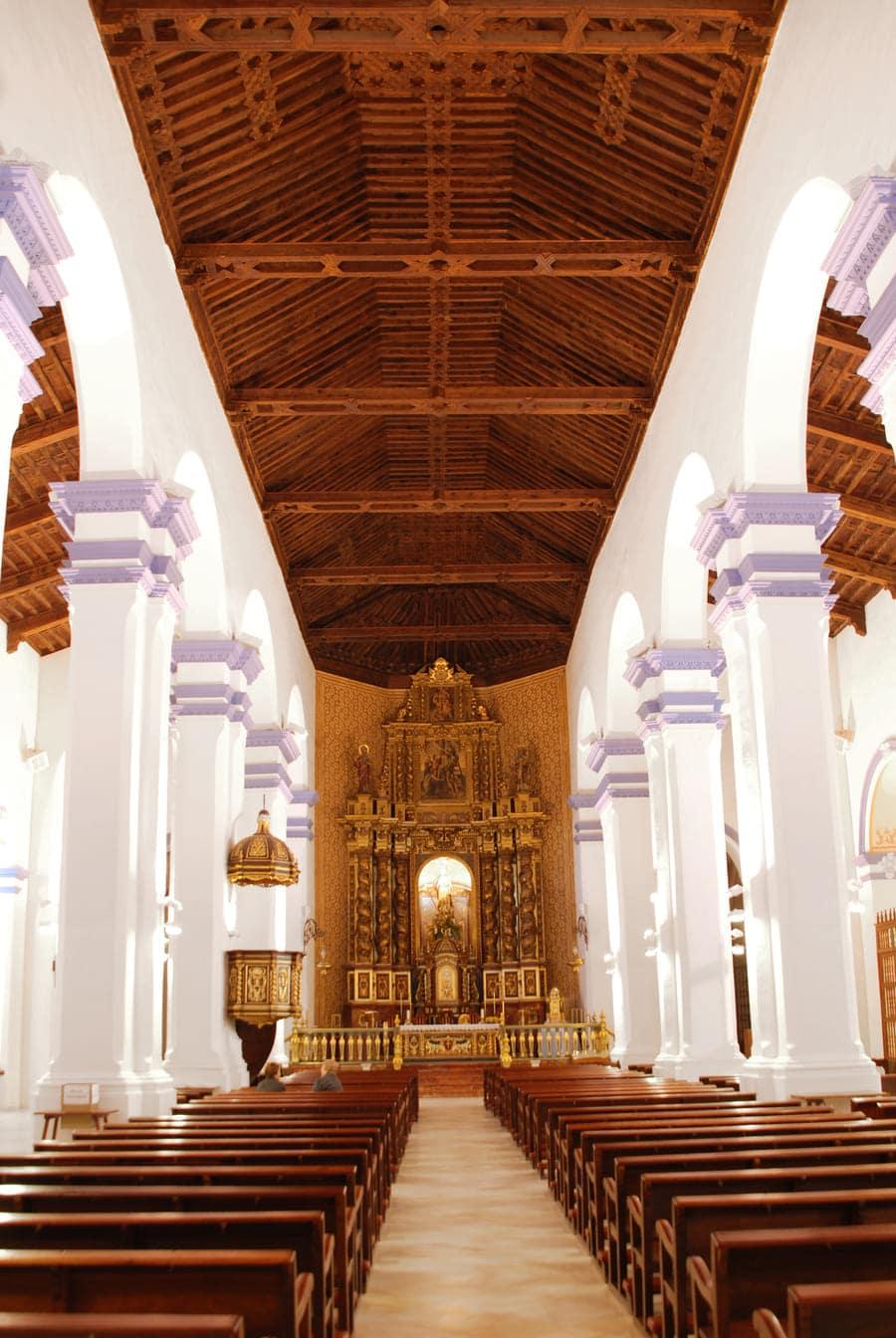 Iglesia de Santiago 'El Mayor' de Totana, lugar donde fue encontrado el manuscrito © Patronato de la Santa de Totana