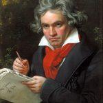 Retrato de Ludwig van Beethoven realizado por Joseph Karl Stieler en 1820