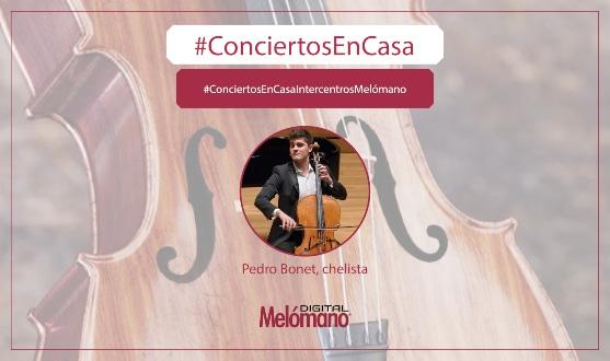 ConciertosEnCasa con el chelista Pedro Bonet