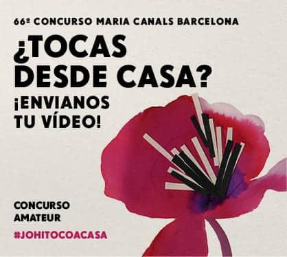 El Maria Canals transforma el concurso 'Tú tocas' en ´Tú tocas en casa' para promover la práctica amateur del piano