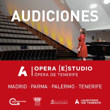 Audiciones 2020 - Auditorio Tenerife