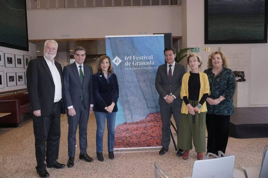 Presentación del 69 Festival de Granada