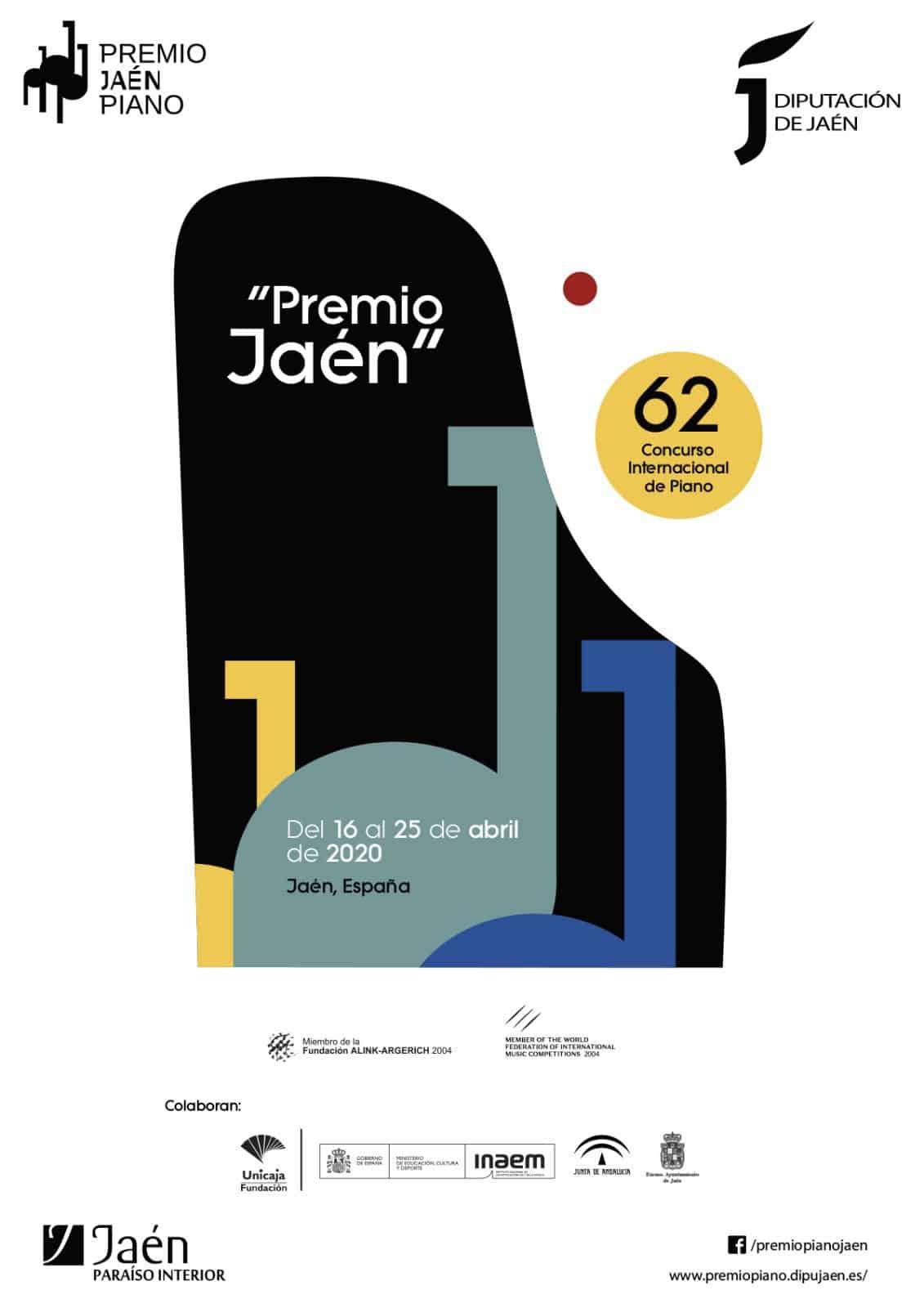 Suspensión 62º Premio 'Jaén' de Piano