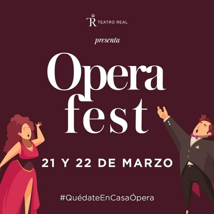 Teatro Real te invita a #OperaFest- mini conciertos digitales en Instagram