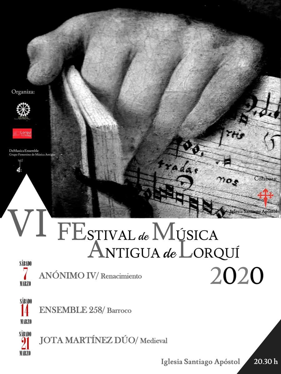 VI edición del Festival de Música Antigua de Lorquí