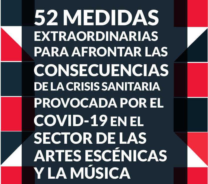52MedidasCovidArtesEscenicasMusica