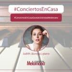 ConciertosEnCasa con la pianista Judith Jauregui