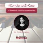 ConciertosEnCasa con la pianista Sira Hernandez