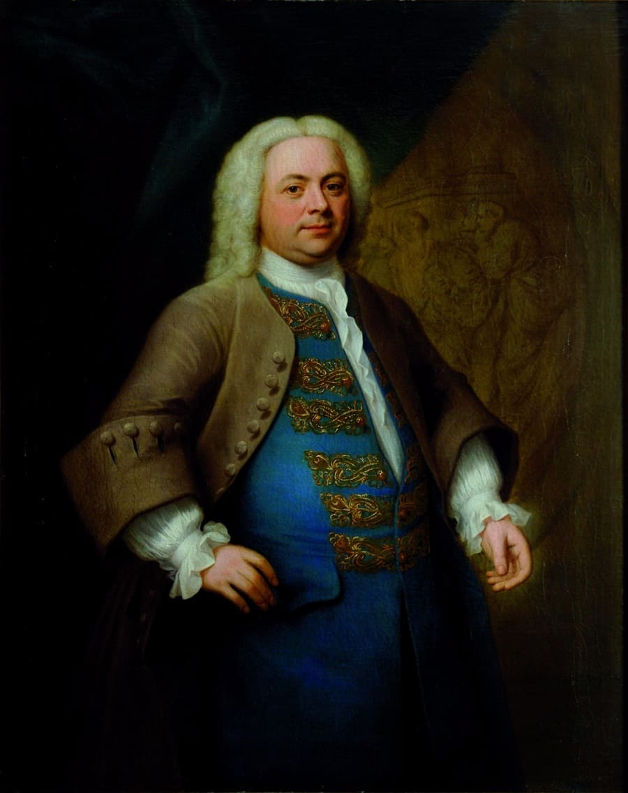 Georg Friedrich Haendel (ca. 1740), John Theodore Heins