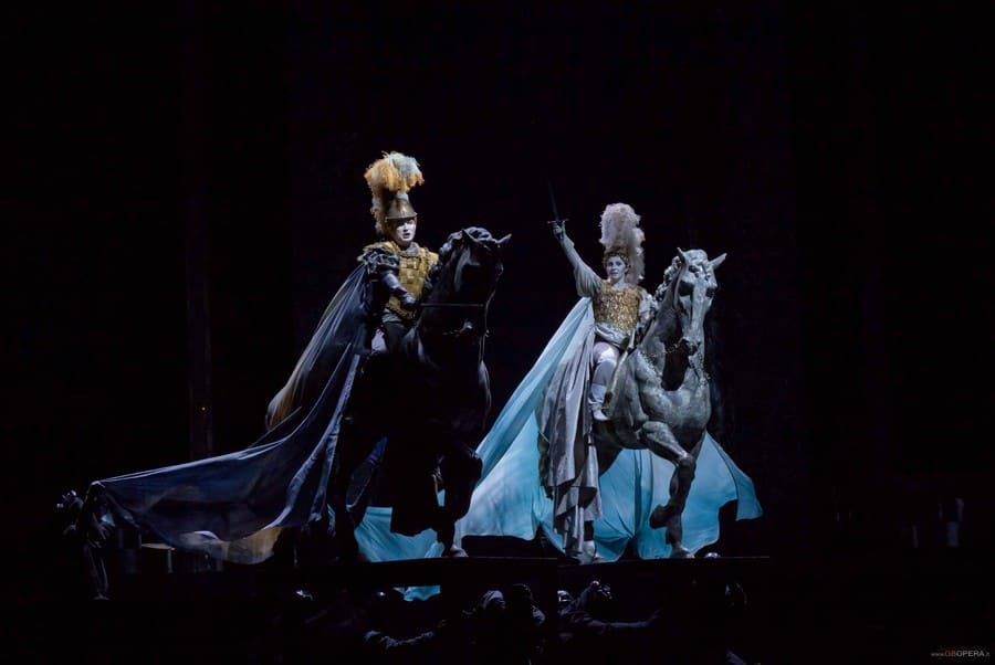 Rinaldo con Marina De Liso & Krystian Adam © Teatro Alighieri