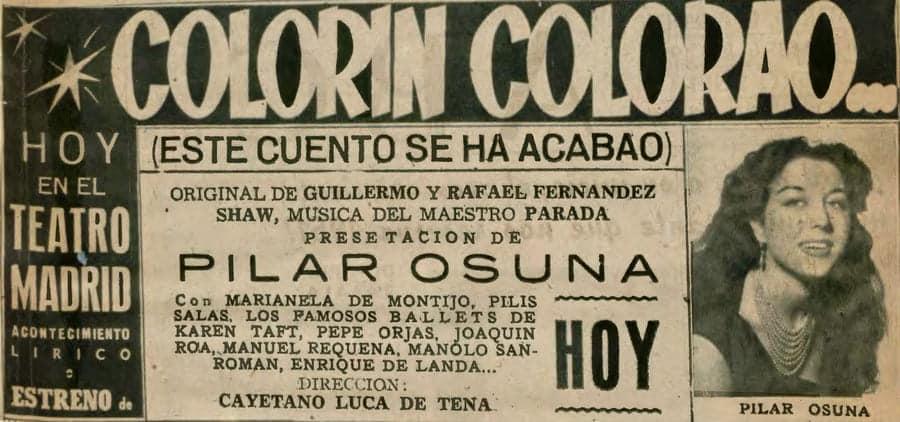 Colorín colorao