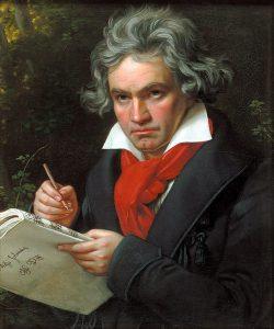 Ludwig van Beethoven, por Joseph Karl Stieler.