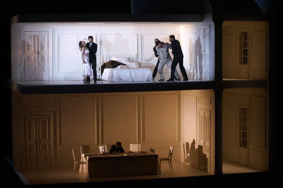 Rodelinda (dirección de escena de Claus Guth), Teatro Real. © Javier del Real