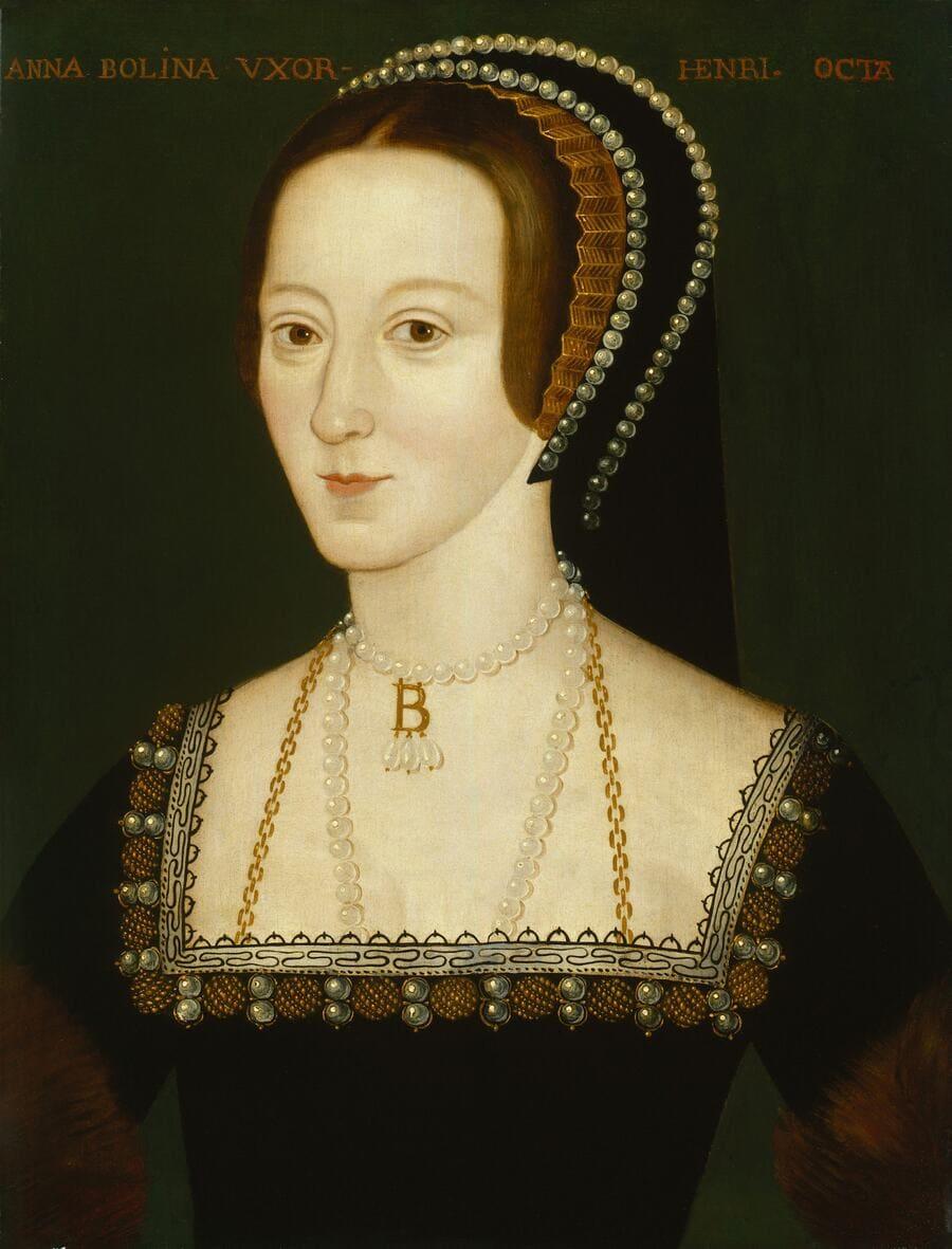 Retrato de la reina Anna Bolena, anónimo (ca. 1533-1536) © National Portrait Gallery