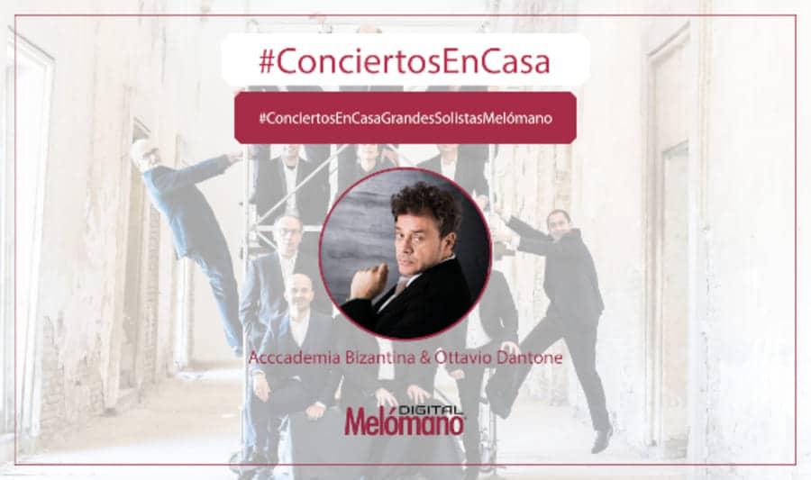 ConciertosEnCasa con Accademia Bizantina & Ottavio Dantone