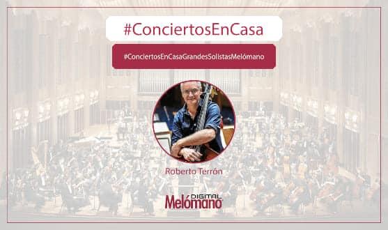 ConciertosEnCasa con Roberto Terron y Miguel Bustamante