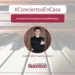 ConciertosEnCasa con el pianista Juan Pedro Garcia Oliva
