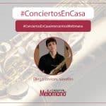 ConciertosEnCasa con el saxofonista Diego Levices-1