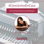 ConciertosEnCasa con la acordeonista Marta Cubas