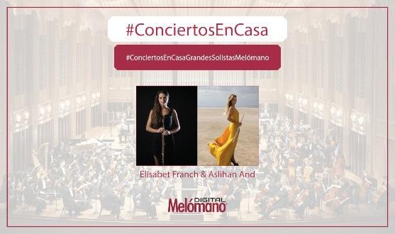 ConciertosEnCasa con las flautistas Elisabet Franch & Aslihan And