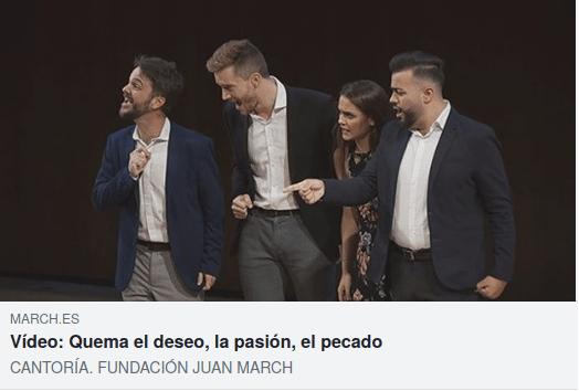 cantoría-fundación Juan March