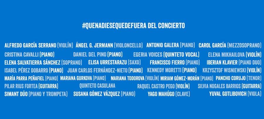 Concierto Solidario por el Día Europeo de la Música