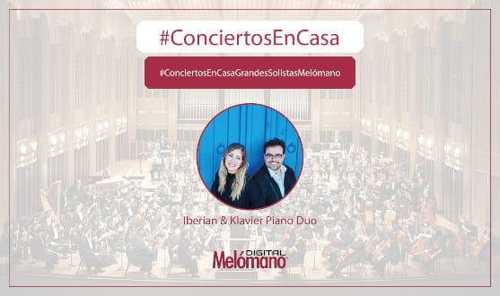 ConciertosEnCasa con Iberian & Klavier Maestro Alonso