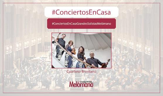 ConciertosEnCasa con el Cuarteto Brentano