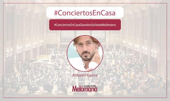 ConciertosEnCasa con el pianista Antonio Galera Interpreta el Noches en los jardines de España