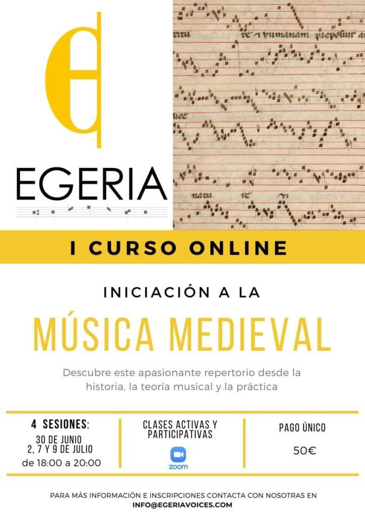 Curso de Iniciación Musical con EGERIA