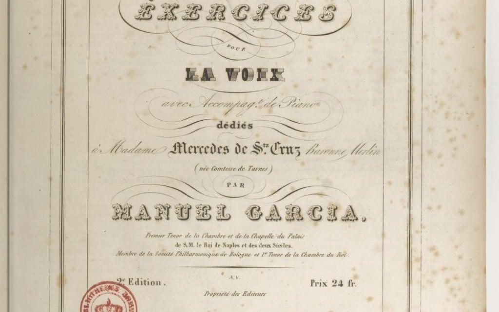 La enseñanza del Canto en España