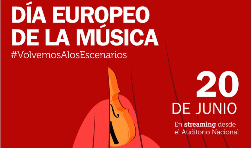 El INAEM celebra el Día Europeo de la Música en streaming