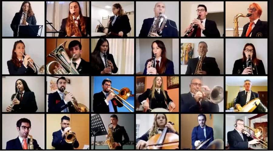 Más de 180 músicos de Valencia homenajean a las víctimas de la COVID-19