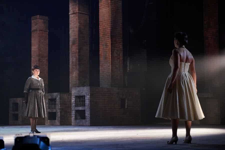 La pasajera de Weinberg en el Teatro de Ópera y Ballet de Ekaterimburgo © Vladimir Savostyanov