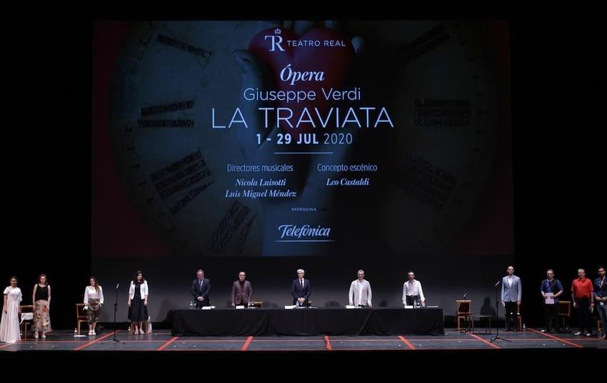 El Teatro Real vuelve con la Traviata