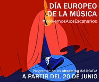 inaem dia europeo de la música banner