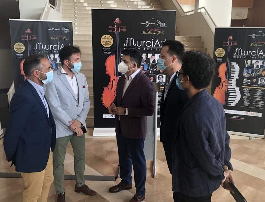 Cuatro conciertos gratuitos para la cuarta edición de MurciArt Music Festival