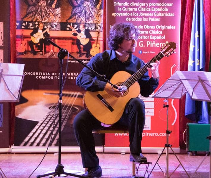 El Concurso de Guitarra Ángel G Piñero se celebrará en formato online