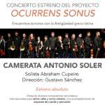 La Camerata Antonio Soler estrena proyecto junto a Abraham Cupeiro