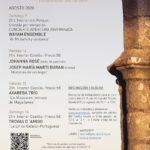 La Muestra de Música Antigua Castillo de Aracena ofrecerá en agosto cuatro conciertos