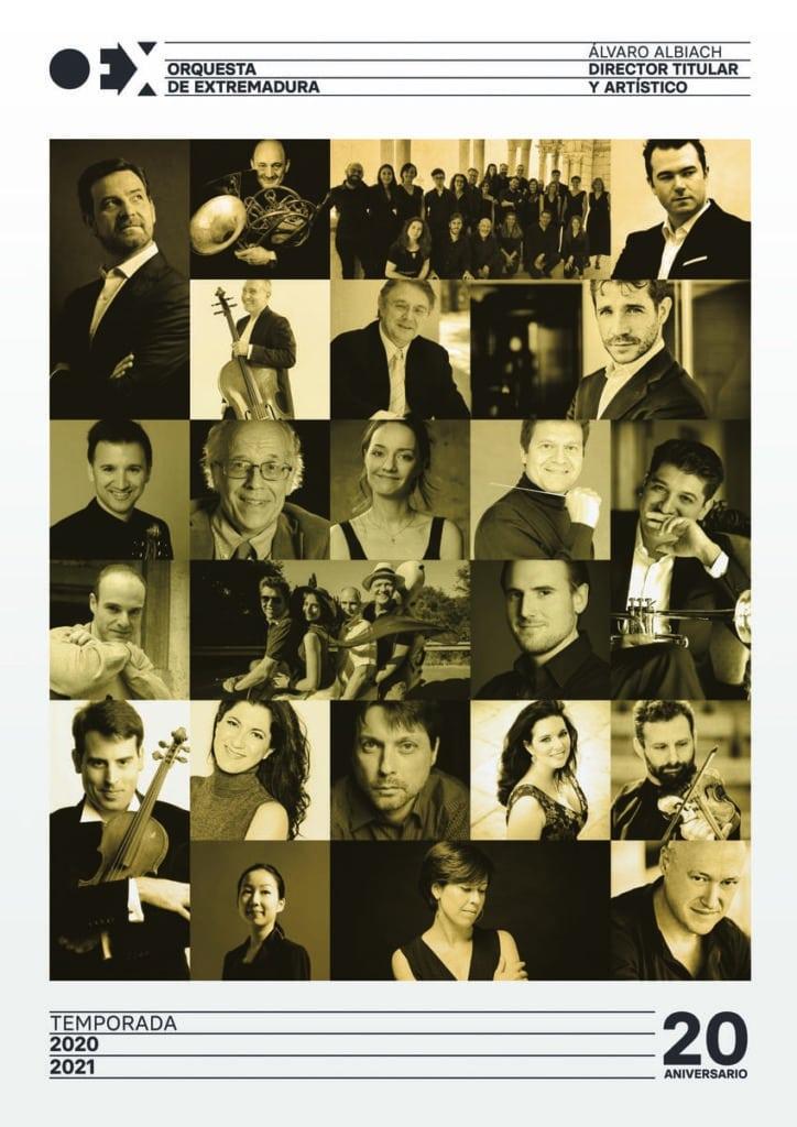 La Orquesta de Extremadura presenta su programación 2020-21