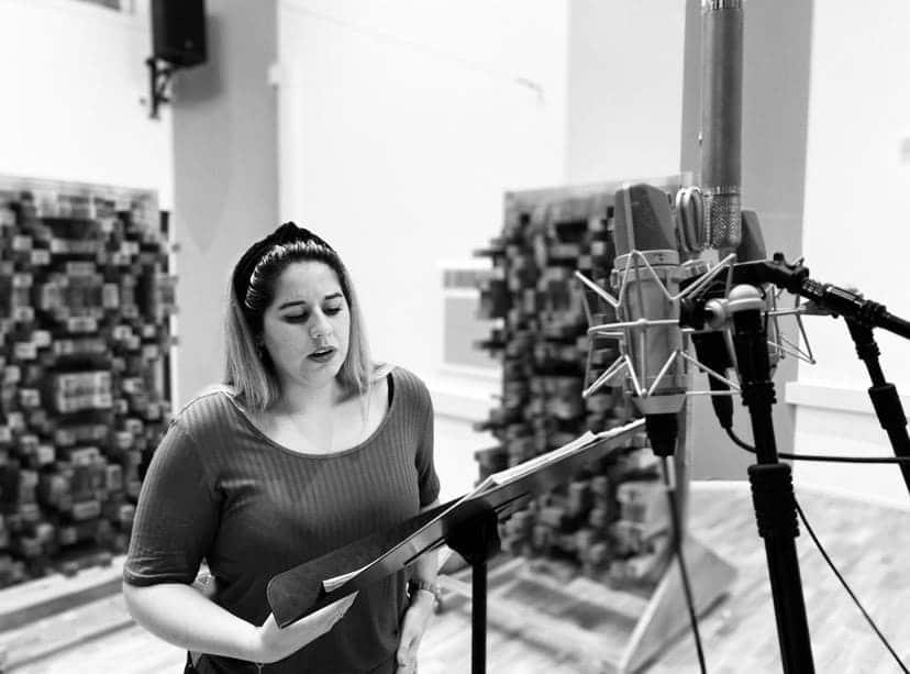 La soprano Mar Morán graba la integral de canciones de García Leoz