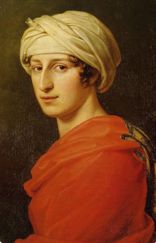 Antonie Brentano, retrato de Joseph Karl Stieler, 1808