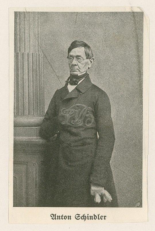 Anton Felix Schindler, ca. 1800