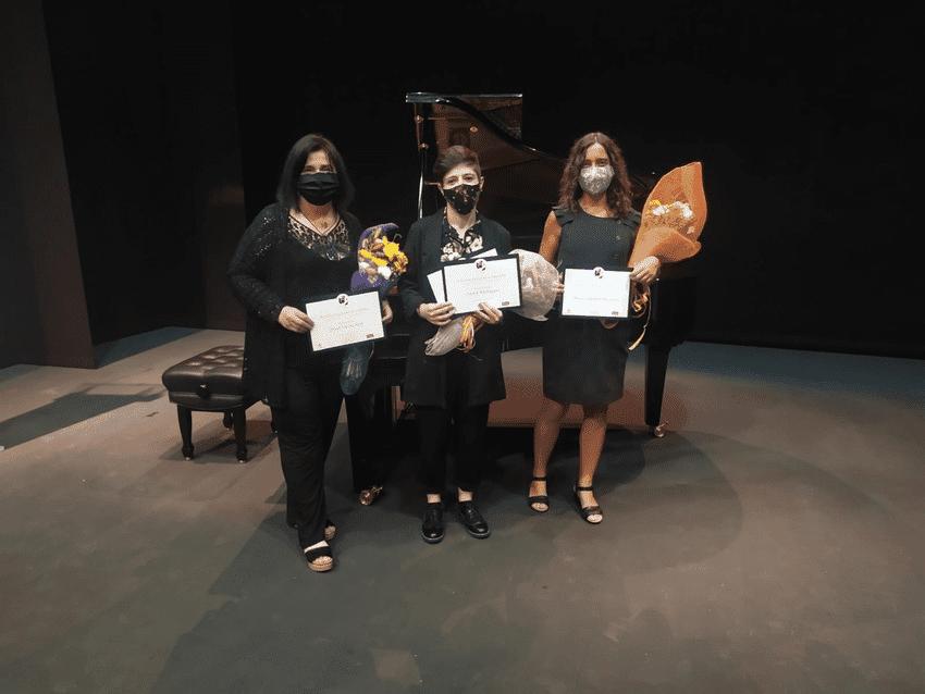 Carme Rodríguez, ganadora del III Concurso Internacional de Composición María de Pablos