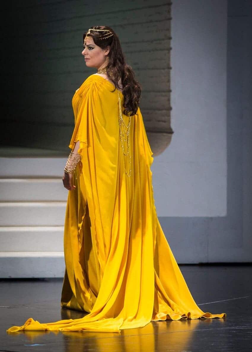 Daniela Barcellona como Ámneris (Aida) en el Festival de Salzburgo © Marco Borrelli