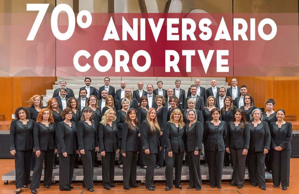 El Coro RTVE celebra su 70 aniversario