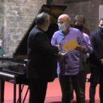 El pianista Rubén Lorenzo recibe la Medalla Albeniz en el pueblo natal del compositor