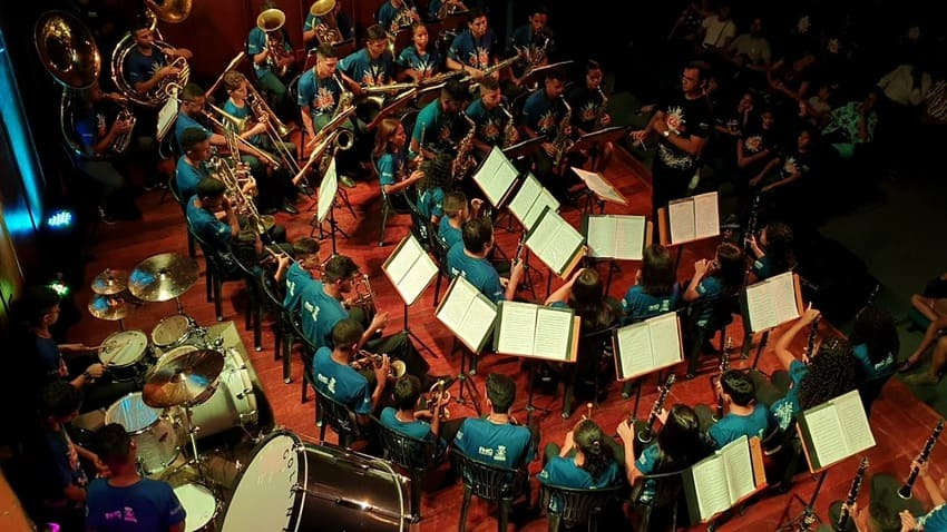 La banda juvenil: ¿ensayamos o aprendemos?