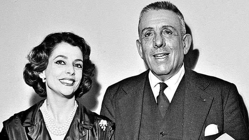Denise Duval y Francis Poulenc